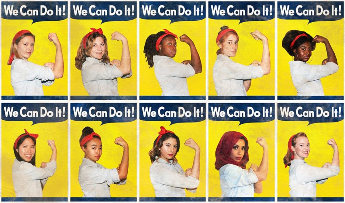 We can do it  Rosie Riveter