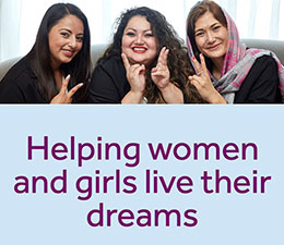 Helping women and girls live their dreams.