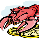 Lobster logo for Soroptimist Intl of Napa