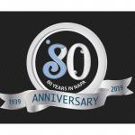 Soroptimist International of Napa 80 year logo